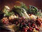selection of vegetables Stock Photo - Premium Rights-Managed, Artist: Photocuisine, Code: 825-05987177