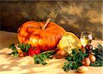 pumpkin Stock Photo - Premium Rights-Managed, Artist: Photocuisine, Code: 825-05987183