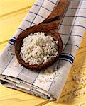 Wooden spoonful of coarse sea salt Stock Photo - Premium Rights-Managed, Artist: Photocuisine, Code: 825-05987291