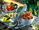 fried scampi Stock Photo - Premium Rights-Managed, Artist: Photocuisine, Code: 825-05987607