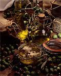 Olive products Stock Photo - Premium Rights-Managed, Artist: Photocuisine, Code: 825-05987739