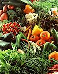 Selection of vegetables Stock Photo - Premium Rights-Managed, Artist: Photocuisine, Code: 825-05988112
