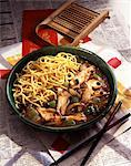 Pork and chicken Chop Suey Stock Photo - Premium Rights-Managed, Artist: Photocuisine, Code: 825-05988453