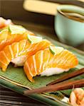 sushi Stock Photo - Premium Rights-Managed, Artist: Photocuisine, Code: 825-05988463