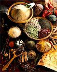 Selection of spices Stock Photo - Premium Rights-Managed, Artist: Photocuisine, Code: 825-05988616