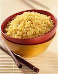 Bowl of saffron rice Stock Photo - Premium Rights-Managed, Artist: Photocuisine, Code: 825-05988711