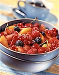 Fruit and Guignolet kirsch salad Stock Photo - Premium Rights-Managed, Artist: Photocuisine, Code: 825-05988733