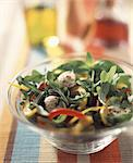 Mixed pepper salad Stock Photo - Premium Rights-Managed, Artist: Photocuisine, Code: 825-05988820