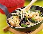 Chinese stir fry Stock Photo - Premium Rights-Managed, Artist: Photocuisine, Code: 825-05989604