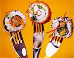 assorted maki Stock Photo - Premium Rights-Managed, Artist: Photocuisine, Code: 825-05989808