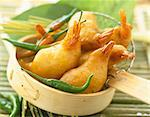 Prawn fritters Stock Photo - Premium Rights-Managed, Artist: Photocuisine, Code: 825-05989862