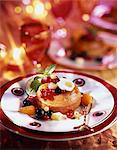 Christmas rum Baba with fresh fruit Stock Photo - Premium Rights-Managed, Artist: Photocuisine, Code: 825-05989923