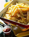 oven-baked fries Stock Photo - Premium Rights-Managed, Artist: Photocuisine, Code: 825-05990007