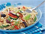 spaghetti with vegetables Stock Photo - Premium Rights-Managed, Artist: Photocuisine, Code: 825-05990048