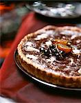 two chocolate tart Stock Photo - Premium Rights-Managed, Artist: Photocuisine, Code: 825-05990415
