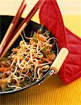 wok with vegetables Stock Photo - Premium Rights-Managed, Artist: Photocuisine, Code: 825-05990585