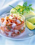seafood salad Stock Photo - Premium Rights-Managed, Artist: Photocuisine, Code: 825-05990750