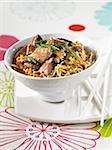 sauteed noodles with veal Stock Photo - Premium Rights-Managed, Artist: Photocuisine, Code: 825-05990768