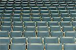 Rows of empty bleachers, full frame Stock Photo - Premium Royalty-Free, Artist: Cultura RM, Code: 632-05992131