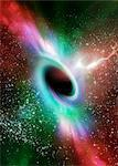 Black hole, computer artwork. Stock Photo - Premium Royalty-Free, Artist: Beyond Fotomedia, Code: 679-05992766