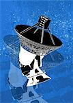 Ground-based satellite, computer artwork. Stock Photo - Premium Royalty-Free, Artist: Marc Simon, Code: 679-05992809