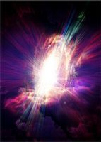 exploding - Big bang, conceptual computer artwork. Stock Photo - Premium Royalty-Freenull, Code: 679-05996367