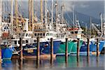 Australia, Queensland, Cairns.  Fishing trawlers at Portsmith. Stock Photo - Premium Rights-Managed, Artist: AWL Images, Code: 862-05996781