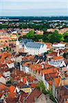 Europe, Belgium, Flanders, Bruges, aerial view of Bruges, old town, Unesco World Heritage Site Stock Photo - Premium Rights-Managed, Artist: AWL Images, Code: 862-05996874
