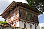The 16th century privately owned country manor, Ogyen Chholing Palace, now a museum and a retreat for religious studies, research and solitude. Stock Photo - Premium Rights-Managed, Artist: AWL Images, Code: 862-05996997