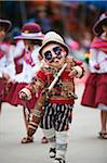 South America, Bolivia, Oruro, Oruro Carnival; Boy in costume Stock Photo - Premium Rights-Managed, Artist: AWL Images, Code: 862-05997069