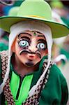 South America, Bolivia, Oruro, Oruro Carnival, Man in costume Stock Photo - Premium Rights-Managed, Artist: AWL Images, Code: 862-05997070