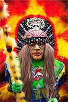 South America, Bolivia, Oruro, Oruro Carnival, Man in costume Stock Photo - Premium Rights-Managednull, Code: 862-05997072