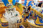 South America, Bolivia, Oruro, Oruro Carnival, Men in costume Stock Photo - Premium Rights-Managed, Artist: AWL Images, Code: 862-05997075