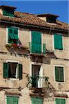 Croatia, Split, Central Europe. Detail of house facades in the historical centre Stock Photo - Premium Rights-Managed, Artist: AWL Images, Code: 862-05997351