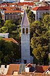 Croatia, Split, Central Europe; A tower in the historic centre Stock Photo - Premium Rights-Managed, Artist: AWL Images, Code: 862-05997354