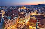 Europe, Czech Republic, Central Bohemia Region, Prague. Prague Old Town Square Stock Photo - Premium Rights-Managed, Artist: AWL Images, Code: 862-05997447