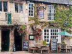 Traditional pub in Burford, Cotswolds, Oxfordshire, UK Stock Photo - Premium Rights-Managed, Artist: AWL Images, Code: 862-05997499