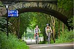Way of the Roses Cycle ride through Lancashire and Yorkshire from Lancaster to Clapham Stock Photo - Premium Rights-Managed, Artist: AWL Images, Code: 862-05997531