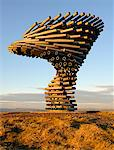 Europe, England, Lancashire, Burnley, Singing Ringing Tree. Stock Photo - Premium Rights-Managed, Artist: AWL Images, Code: 862-05997601