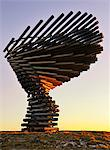 Europe, England, Lancashire, Burnley, Singing Ringing Tree. Stock Photo - Premium Rights-Managed, Artist: AWL Images, Code: 862-05997603