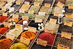 Antibes, Provence Alpes Cote d'Azur, France. Herbs and spices for sale on the Antibes food market Stock Photo - Premium Rights-Managed, Artist: AWL Images, Code: 862-05997669