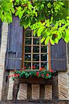Window detail in Mirpe square in the old town of Bergerac, Aquitaine, Dordogne, France Stock Photo - Premium Rights-Managed, Artist: AWL Images, Code: 862-05997681