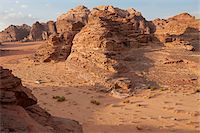 Travelling by jeep in the Wadi Rum, Jordan Stock Photo - Premium Rights-Managednull, Code: 862-05998276