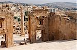 Jerash, located 48 kilometers north of Amman is considered one of the largest and most well-preserved sites of Roman architecture in the world, Jordan Stock Photo - Premium Rights-Managed, Artist: AWL Images, Code: 862-05998303