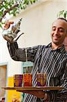 Pouring Fresh Mint Tea, Riad Magi, Marrakech Stock Photo - Premium Rights-Managed, Artist: AWL Images, Code: 862-05998696