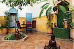 Courtyard, Riad Magi, Marrakech Stock Photo - Premium Rights-Managed, Artist: AWL Images, Code: 862-05998699