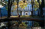Russia, St.Petersburg. The State Hermitage Museum or former Winter Palace courtyard Stock Photo - Premium Rights-Managed, Artist: AWL Images, Code: 862-05999026