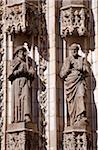 Spain, Andalusia, Seville; Detail of Statues on the door of the main Cathedral Stock Photo - Premium Rights-Managed, Artist: AWL Images, Code: 862-05999153