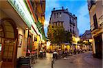 Spain, Andalusia, Seville; Night life in the city centre Stock Photo - Premium Rights-Managed, Artist: AWL Images, Code: 862-05999191