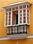 Spain, Andalusia, Seville; A typical andalusian balcony Stock Photo - Premium Rights-Managed, Artist: AWL Images, Code: 862-05999209